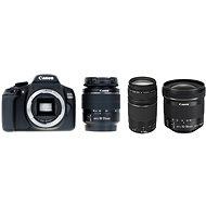 Canon EOS 1300D + 18-55mm DC III + 75-300m DC III + 10-18mm IS STM - Digitale Spiegelreflexkamera