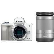 Canon EOS M50 weiß + EF-M 18-150 mm IS STM - Digitalkamera
