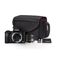 Canon EOS M50 schwarz + EF-M 15-45 mm IS STM Value Up Kit - Digitalkamera