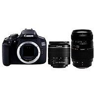 Canon EOS 1300D + EF-S 18-55mm DC + Tamron 70-300mm Macro - Digitale Spiegelreflexkamera