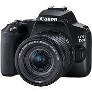 Canon EOS 250D schwarz + 18-55mm S CP - Digitalkamera