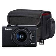 Canon EOS M200 + EF-M 15-45 mm f/3.5-6.3 IS STM Value Up Kit - Digitalkamera