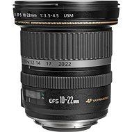 Canon EF-S 10-22 mm F3.5 - 4.5 USM Zoom Black - Objektiv
