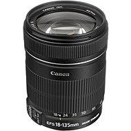 Canon EF-S 18-135 mm F3.5 - 5.6 IS Zoom, schwarz - Objektiv