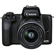Canon EOS M50 Mark II schwarz + EF-M 15-45 mm IS STM - Digitalkamera