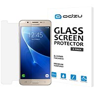 Schutzglas Odzu 2 Stück für Samsung Galaxy J5 2016 - Schutzglas