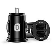 Odzu Car Charger Mini Black - Autoladegerät