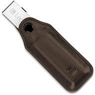 Odzu Ledertasche mit Schlüsselhalter Brown Ledger Nano S - Ledertasche