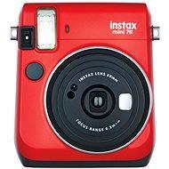 Fujifilm Instax Mini 70 Rot - Sofortbildkamera