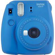 Fujifilm Instax Mini 9 Dunkelblau + Film 1x10 - Sofortbildkamera