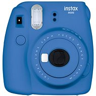 Fujifilm Instax Mini 9 Dunkelblau + Film 1x10 + Etui - Sofortbildkamera