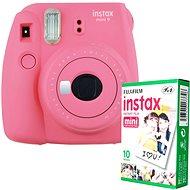 Fujifilm Instax Mini 9 pink + 10x Fotopapier