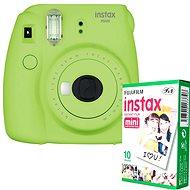 Fujifilm Instax Mini 9 Lime + 10x Fotopapier