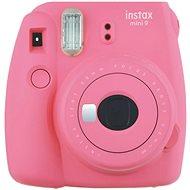 Fujifilm Instax Mini 9 Rosa + Film 1x10 - Sofortbildkamera