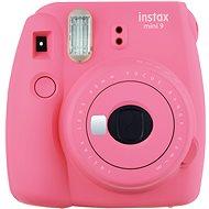 Fujifilm Instax Mini 9 Rosa + Film 1x10 + Etui - Sofortbildkamera