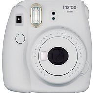 Fujifilm Instax Mini 9 Smokey White + Film 1x10 - Sofortbildkamera