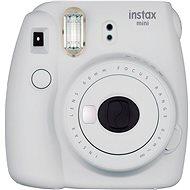 Fujifilm Instax Mini 9 Smokey White + Film 1x10 + Etui - Sofortbildkamera