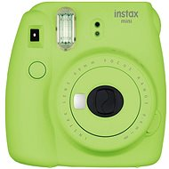 Fujifilm Instax Mini 9 Lime Green + Film 1x10 + Etui - Sofortbildkamera