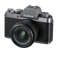 Fujifilm X-T100 Silber + XC 15-45 mm 1: 3,5-5,6 OIS PZ - Digitalkamera