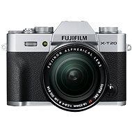 Digitalkamera Fujifilm X-T20 Silber + XF 18-55 mm F 2.8-4 R LM OIS - Digitalkamera