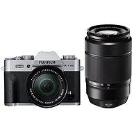 Fujifilm X-T20 Silber + XC16-50 mm F3.5-5.6 OIS II + XC50-230 mm F4.5-6.7 OIS II - Digitalkamera