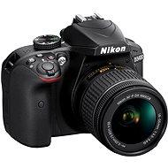 Nikon D3400 Schwarz mit 18-55 mm + VR AF-P - Digitale Spiegelreflexkamera