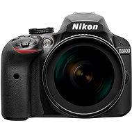 Nikon D3400 Schwarz + 18-105 mm VR - Digitale Spiegelreflexkamera