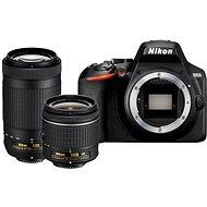 Nikon D3500 schwarz + 18-55mm VR + 70-300mm VR - Digitalkamera