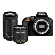 Nikon D3500 schwarz + 18-55mm + 70-300mm - Digitalkamera