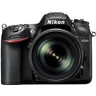 Nikon D7200 schwarz + 18-105 VR Objektiv AF-S DX - Digitale Spiegelreflexkamera