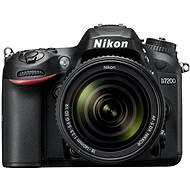 Nikon D7200 schwarz + 18-140 VR Objektiv AF-S DX - Digitale Spiegelreflexkamera