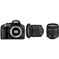 Nikon D5300 + 18-55 AF-P + Objektiv 10-20mm AF-P VR - Digitale Spiegelreflexkamera