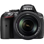 Digitale Spiegelreflexkamera Nikon D5300 + 18-140 mm AF-P VR Objektiv - Digitale Spiegelreflexkamera