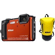 Nikon COOLPIX W300 Orange Holiday Kit - Digitalkamera
