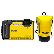 Nikon COOLPIX W300 Gelb Holiday Kit - Digitalkamera