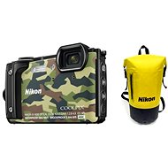 Nikon COOLPIX W300 Camouflage Holiday Kit - Digitalkamera