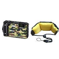 Nikon COOLPIX W300 Camouflage + 2in1 Schwimmriemen - Digitalkamera