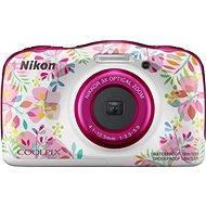 Nikon COOLPIX W150 Kinderkamera mit Blumenmuster - Kinderkamera