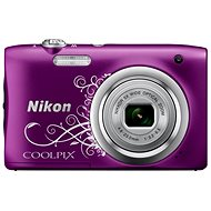 Nikon COOLPIX A100 Line-Purple - Digitalkamera