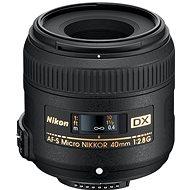 NIKKOR 40mm f/2.8 AF-S ED DX MICRO - Objektiv