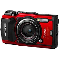 Olympus TOUGH TG-5 rot + Power Kit - Digitalkamera