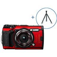 Olympus TOUGH TG-6 + POWER KIT - rot - Digitalkamera