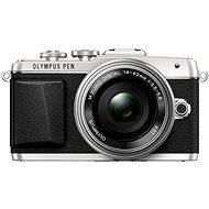 Olympus PEN E-PL7 silber + objektiv 14-42mm Pancake Zoom - Digitalkamera