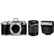 Olympus E-M5 Mark II Körper + Objektiv 14 - 150 Millimeter II silber / schwarz - Digital-Kamera