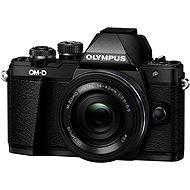 Olympus E-M10 Mark II schwarz/schwarz + ED 14-42 mm EZ - Digitalkamera