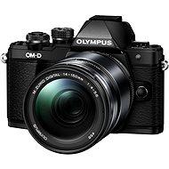 Olympus E-M10 Mark II schwarz/schwarz + ED 14-150 II - Digitalkamera