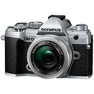 Olympus OM-D E-M5 Mark III + 14-42mm EZ Silber - Digitalkamera