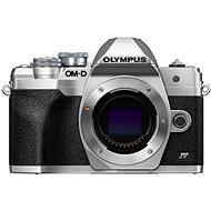 Olympus OM-D E-M10 Mark IV Karosseriesilber - Digitalkamera