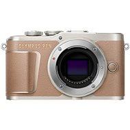 Olympus PEN E-PL10 Gehäuse, braun - Digitalkamera