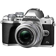 Olympus OM-D E-M10 Mark III S + 14-42 mm II R Silber - Digitalkamera